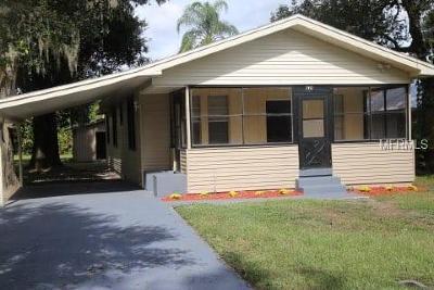 Bartow Single Family Home For Sale: 740 W Vine Street