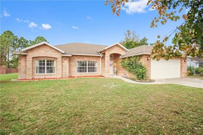 Deltona Single Family Home For Sale: 956 Hugo Circle