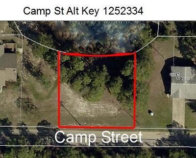 Leesburg Residential Lots & Land For Sale: Camp Street