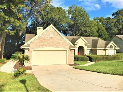 Apopka Single Family Home For Sale: 1147 Glenmore Drive