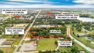 Orlando Residential Lots & Land For Sale: 1650 Chickasaw Trail N