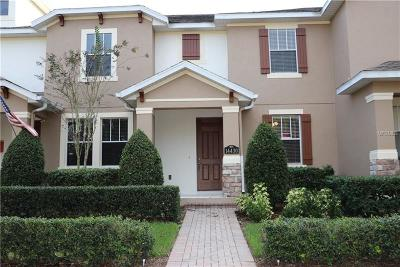 Winter Garden Townhouse For Sale: 14430 Prunningwood Place
