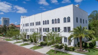 Orlando Townhouse For Sale: 609 E Ridgewood Street