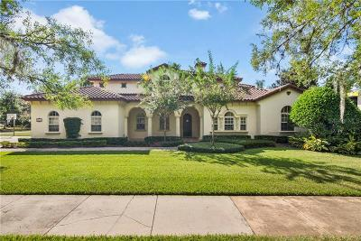 Winter Park Single Family Home For Sale: 2615 Via Tuscany