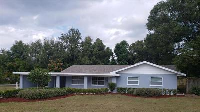 Eustis Single Family Home For Sale: 2001 E Washington Avenue