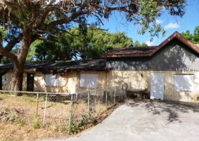 Bradenton Single Family Home For Auction: 5512 4th Avenue NW