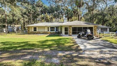 Hernando Single Family Home For Sale: 6425 E River Road #C