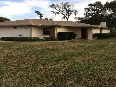 Single Family Home For Sale: 733 Mikasuki Drive