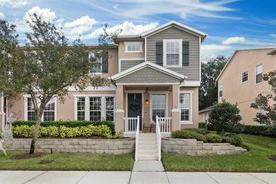 Winter Garden Townhouse For Sale: 821 Bending Oak Trail