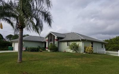 Port Charlotte Single Family Home For Sale: 5494 Riley Lane