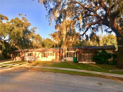 Eustis Single Family Home For Sale: 717 Haselton Street