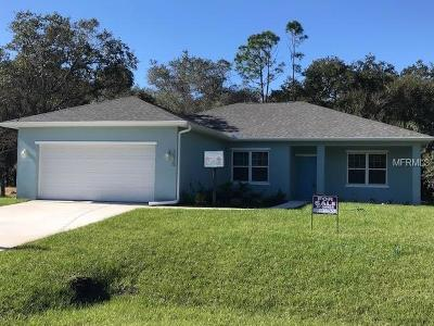 North Port Single Family Home For Sale: 1575 Ruiz Street