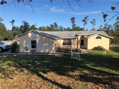 Deltona Single Family Home For Sale: 2477 Scottville Avenue