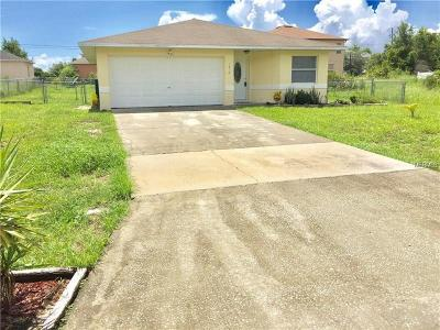 Poinciana Single Family Home For Sale: 1410 Kissimmee Court