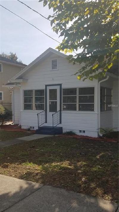 Orlando Single Family Home For Sale: 714 E Central Boulevard