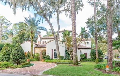 Winter Park Single Family Home For Sale: 671 Via Lugano