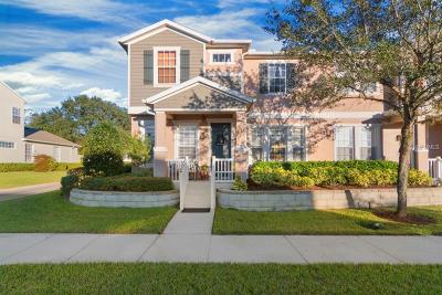 Winter Garden Townhouse For Sale: 801 Bending Oak Trail