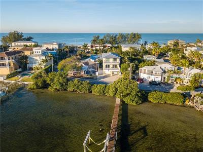 Bradenton Beach Single Family Home For Sale: 402 Bay Drive S