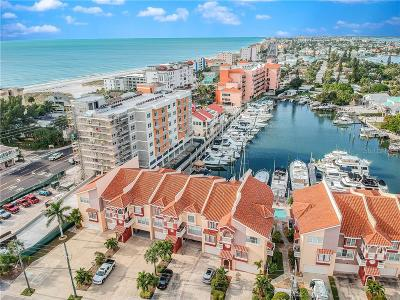 Madeira Beach, Madiera Beach Townhouse For Sale: 116 131st Avenue E #G/7