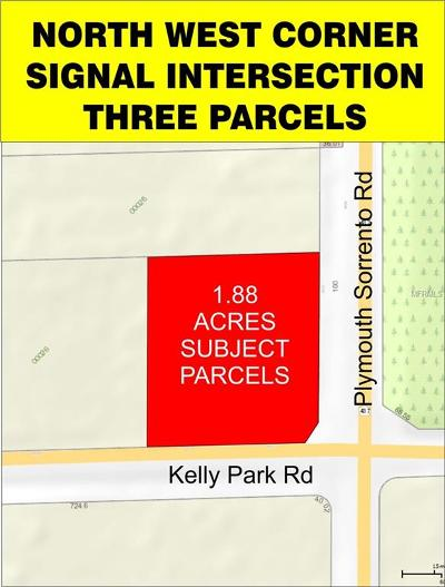 Apopka Residential Lots & Land For Sale: 5012 Plymouth Sorrento Road
