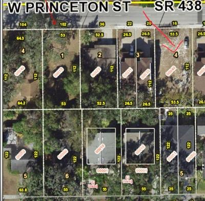 College Park Residential Lots & Land For Sale: 16 W Princeton Street