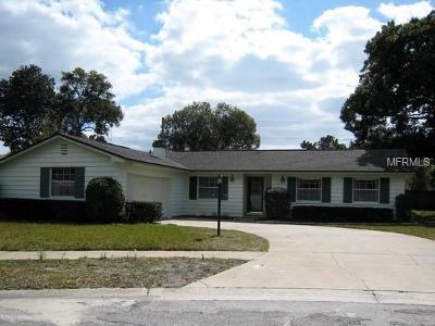 Winter Park Single Family Home For Sale: 3412 Arnel Drive