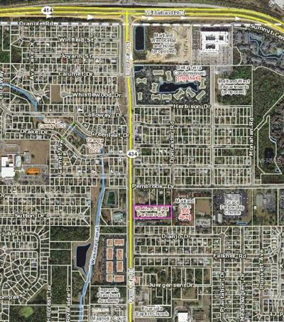 Orlando Residential Lots & Land For Sale: 8213 Forest City Road