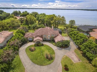 Mount Dora FL Single Family Home For Sale: $1,390,000