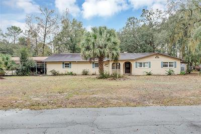 Levy County Single Family Home For Sale: 9350 NW 114th Street