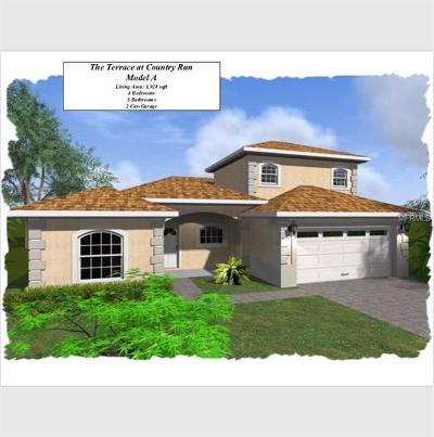 Lake County, Orange County, Osceola County, Seminole County Single Family Home For Sale: 7066 Country Run Parkway