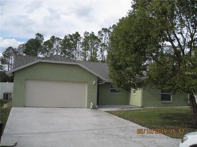 Winter Springs Single Family Home For Sale: 1004 Cama Court