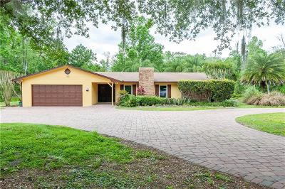Oviedo Single Family Home For Sale: 2380 F F Morgan Cove