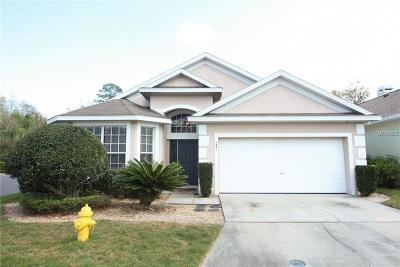 Winter Springs Single Family Home For Sale: 1531 Fox Glen Drive
