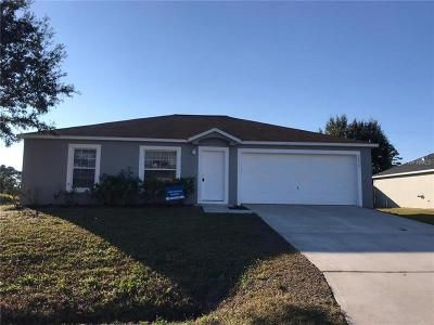 Palm Bay Single Family Home For Sale: 2898 Felda Avenue SE