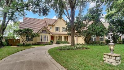 Oviedo Single Family Home For Sale: 2115 Lakeside Drive