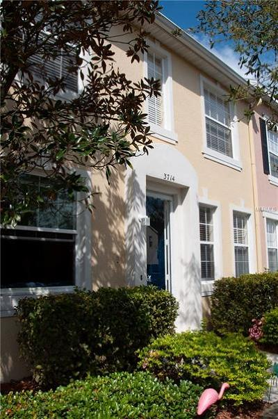 Orlando Townhouse For Sale: 3714 Peppervine Drive