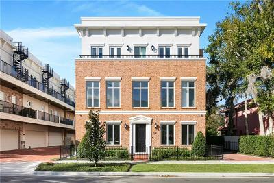 Winter Park Townhouse For Sale: 141 N Virginia Avenue