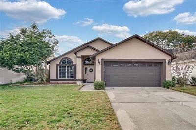 Lake Mary Single Family Home For Sale: 3060 Dellcrest Place