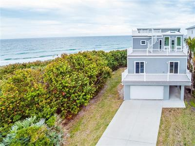 Melbourne Beach Single Family Home For Sale: 6105 S Highway A1a