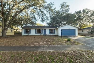 Eustis Single Family Home For Auction: 2718 N Dellwood Drive