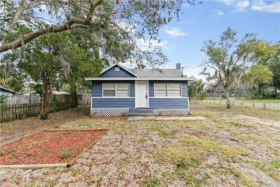 Eustis Single Family Home For Sale: 1007 Schultz Street
