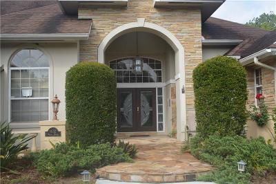 Winter Springs Single Family Home For Sale: 1632 Winter Springs Boulevard