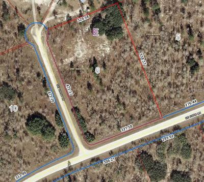 Levy County Residential Lots & Land For Sale: SE 126th Court