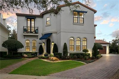 Winter Park Single Family Home For Sale: 1335 Chapman Circle