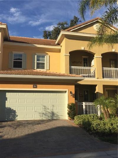 Lake Mary Townhouse For Sale: 854 Brutus Terrace