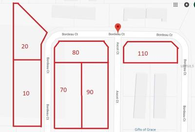 Auburndale Residential Lots & Land For Sale: Bordeau Court