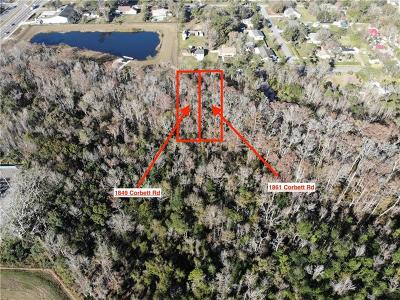 Orlando Residential Lots & Land For Sale: 1861 Corbett Road