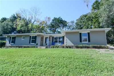 Mount Dora Single Family Home For Sale: 1825 Hilltop Drive