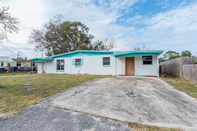 Daytona Single Family Home For Sale: 1232 David Drive