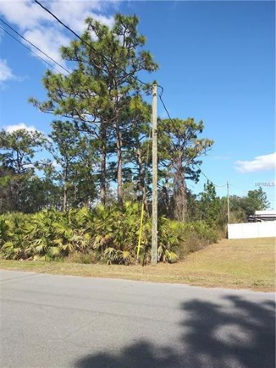 Orlando Residential Lots & Land For Sale: Ralston Street #3A